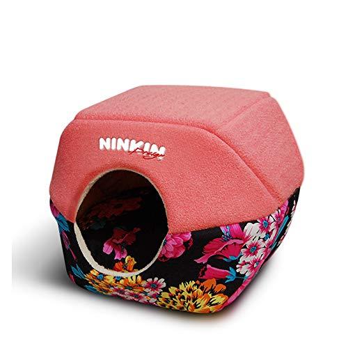 KJUHVBF La casa para mascotas es fácil de mover, fácil de limpiar y es una cama cálida y cómoda.