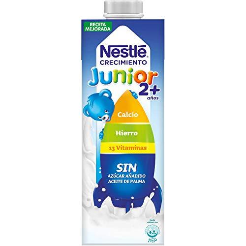 Nestlé Junior 2+ Original -Leche para niños a partir de 2 años - 1l