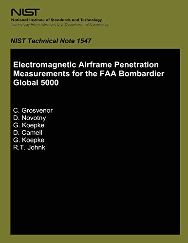 Electromagnetic Airframe Penetration Measurement for the FAA Bombardier Global 5000