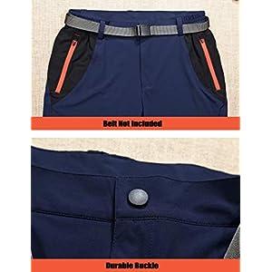 Magcomsen Hiking Pants Mens Work Pants For Men Fishing Pants Summer Pants Quick Dry Pants Lightweight Pants Climbing Pants Camping Pants Zip Pockets
