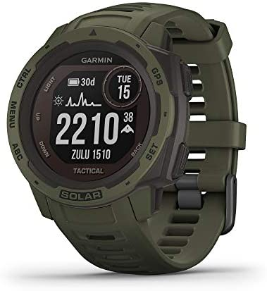 Garmin Instinct Solar Tactical Solar Powered Rugged Outdoor Smartwatch with Tactical Features product image