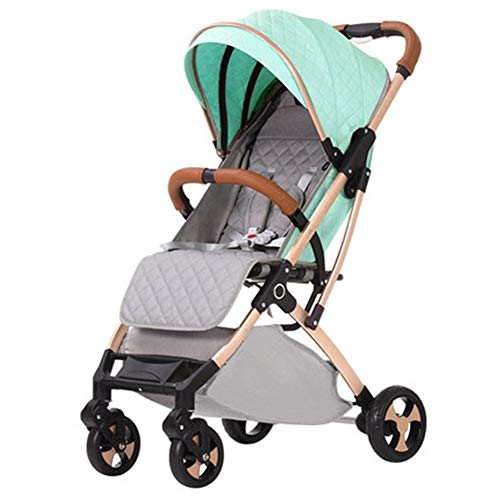 Check Out This Goquik Baby Stroller Light Can Sit Reclining Folding Portable Stroller Four Wheel Chi...