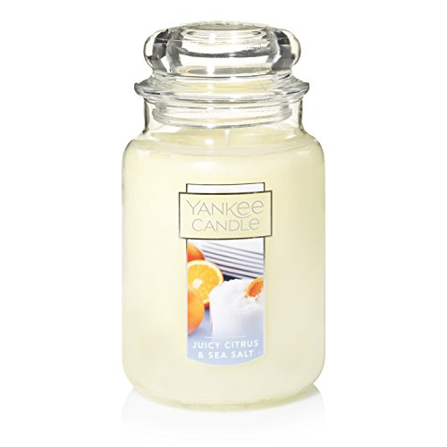 Yankee Candle Large Jar Candle, Juicy Citrus & Sea Salt
