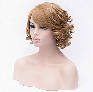 Fashion fluffy short curly BOBO wigs light brown for girls 0820-13-xx