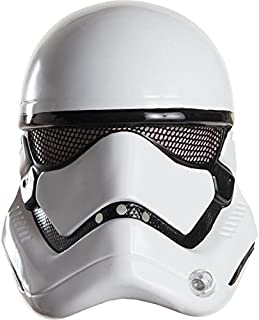 Star Wars: The Force Awakens Adult Stormtrooper Half Helmet, One Size