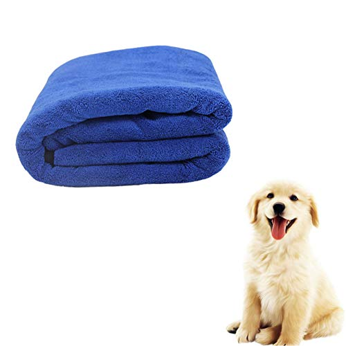 ppactvo Dog Cushion Pet Blankets Fluffy Soft Plush Warm Pet Cushion Leakproof Female Dog Fertility Pad For Dogs And Cats blue,M