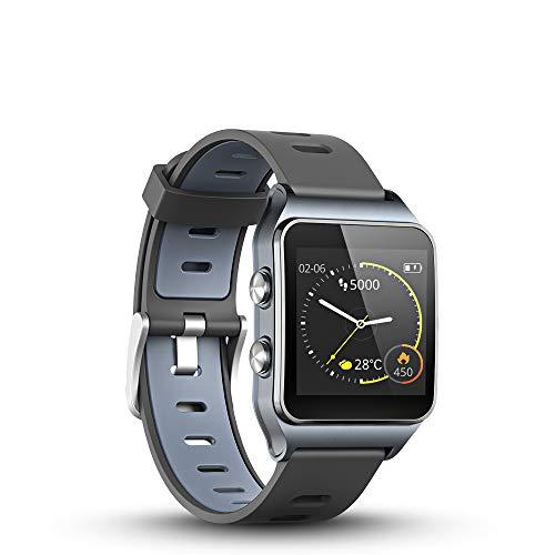 LUKAWIT GPS Reloj Inteligente Fitness Tracker con Monitor de Frecuenci