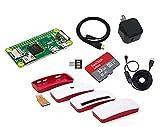 Raspberry Pi Zero W スターターセット (USB小型電源, 高速型32GB MicroSD, USBスイッチケーブル, ケース, HDMIケーブル, MicroUSB変換アダプター付き)