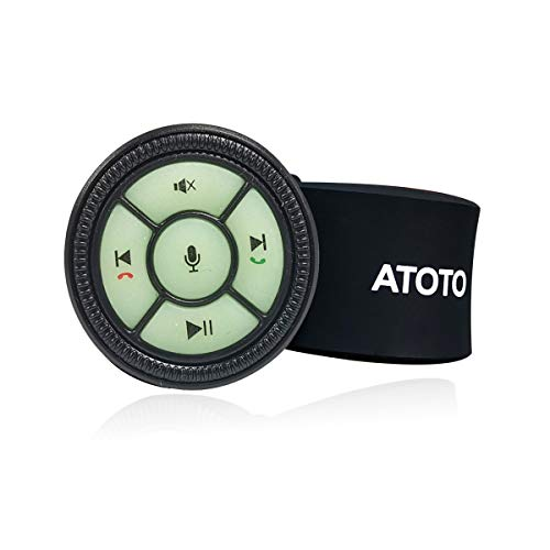ATOTO AC-44F5 Watchband Style Wireless Remote Control with Backlight Buttons (Upgraded from AC-44F4) - Only for ATOTO Car Stereo (A6,F7 & S8)