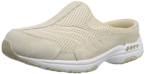 Easy Spirit womens Traveltime Clog Light Natural/White 6.5 M US