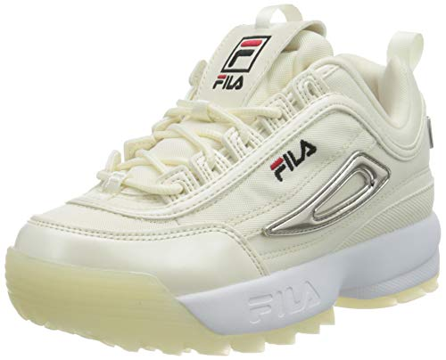 Fila Disruptor Mesh, Zapatillas Unisex niños, Blanco (Marshmallow), 30 EU