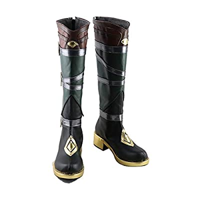 Genshin Impact Razor Brown Shoes Cosplay Boots from