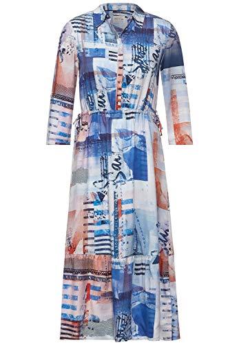 Cecil 142896 Vestido, Provence Blue, XL para Mujer
