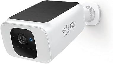 eufy Security SoloCam S40, Wire-Free Spotlight Cam 2K Solar, Wireless, Outdoor Security Camera, WiFi, Spotlight Camera, So...