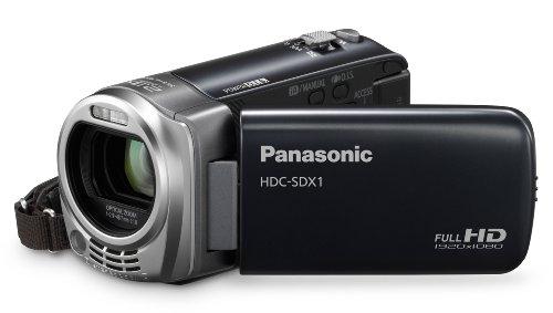 Panasonic HDC-SDX1EG9 - Videocamera Full HD (slot per scheda SD, 16x opt. Zoom 6,9 cm (2,7 pollici), stabilizzatore d'immagine