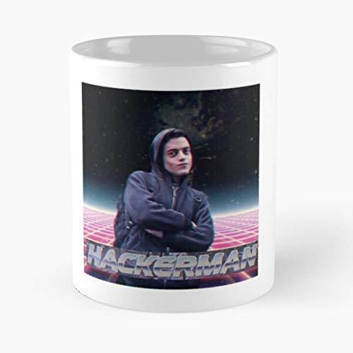 Hackerman Classic Mug Best Gift Coffee Mugs 11 Oz
