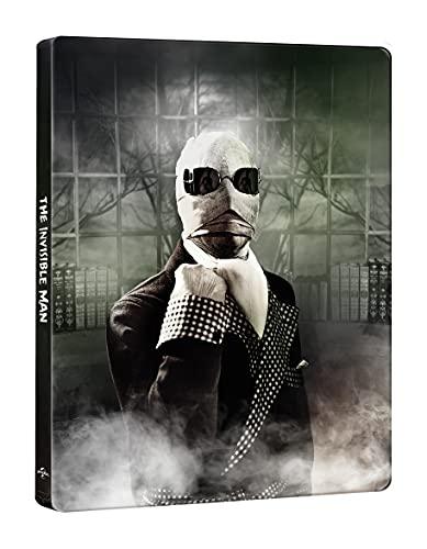 L'Uomo Invisibile (1933) Steelbook (4K Ultra HD + Blu-ray) (2 Blu Ray)