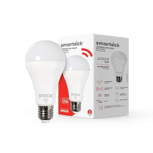 Lâmpada Inteligente Smarteck 12W, Bivolt, compatível com Alexa