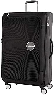 American Tourister Curio SS Softside Spinner Suitcase, 81 Centimeters, Black