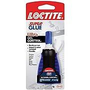 Loctite Super Glue Ultra Gel Control, 4-Gram Bottle (1739050)