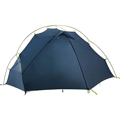 Jack Wolfskin Unisex– Adult's Exolight I Dome Tent for Camping, Steel Blue, Standard