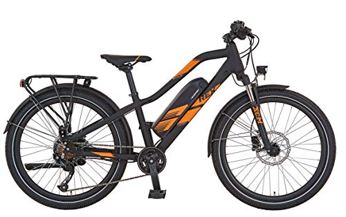 REX Bicicleta eléctrica infantil Graveler Twentyfour Kids E