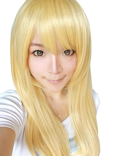 Faithful reproduction Attack on Titan Christa cosplay wig net with WATER LILY made cw06 (japan import)