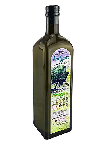 Natives Olivenöl Latzimas Extra Virgin erste Kaltpressung 1 Liter Kreta Griechenland