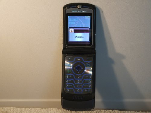 Motorola V3I Simlockfrei Farbe Sliber Grau