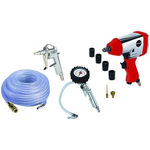 Einhell compressoren accessoires perslucht accessoires kit 10 stuks geschikt voor compressoren