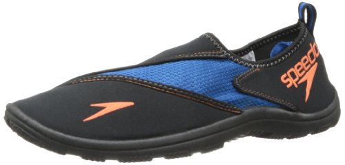 Speedo mens Surfwalker Pro 2.0 - Manufacturer Discontinued athletic water shoes, Imperial Blue/Black, 12 US