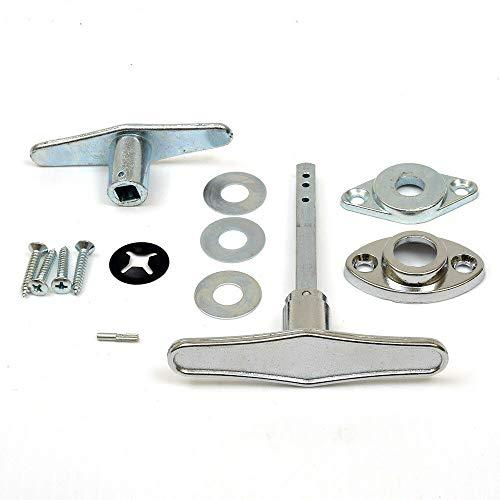 Find Discount Garage Door Lock T - Handle Assembly (No Keys)