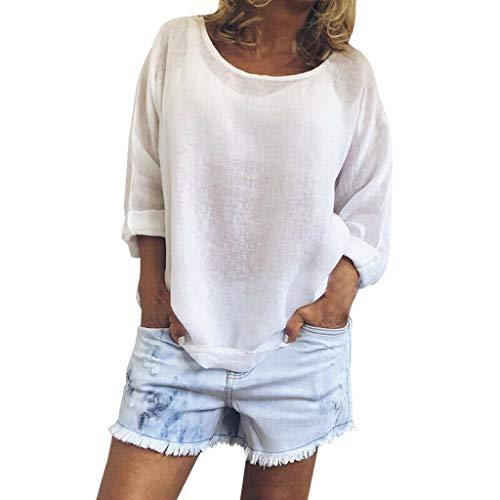 BOLANQ Hosen Strickkleid anzüge Hosenanzug Lederjacke Damenmode mütze socken Weste Jeans Bekleidung (XX-Large,Weiß)