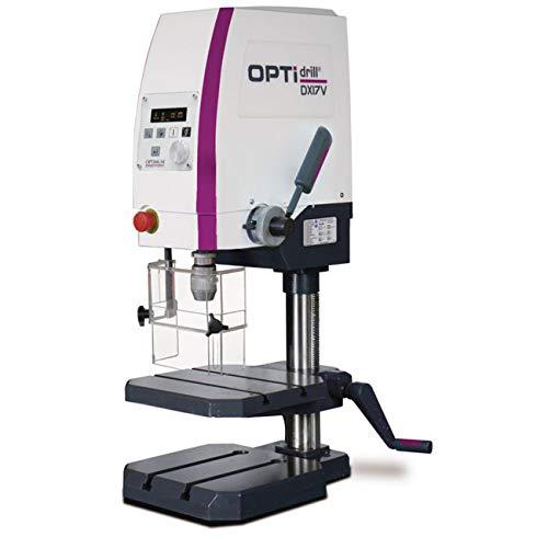 Optimum DX 17V - Robusto Taladro de Sobremesa con Variador de Velocidad, 1 KW, 230 Volts