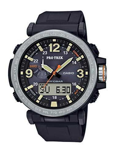 Casio Men's Pro Trek Japanese-Quartz Watch with Resin Strap, Black -$139.99(53% Off)