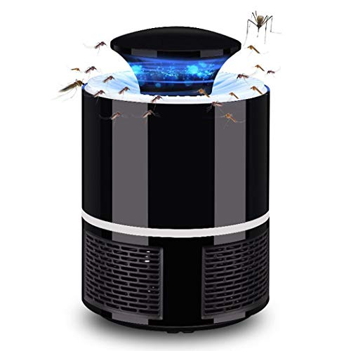 Electronic Mosquito Killer Lamp-Bug Zapper Mosquito Trap LED Smart Touch Mosquito Lamp Non-toxic USB Powered Insect Killer Super Silent Suitable for Pregnant Women and Babies for Indoor and Outdoo