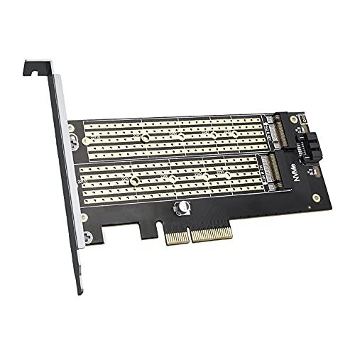 PCI-E a M.2 NVME NGFF Tarjeta Vertical M Key/B Key Adaptador de Unidad de Disco Duro Tarjeta de expansión HDD de Escritorio para Mac Linux Windows