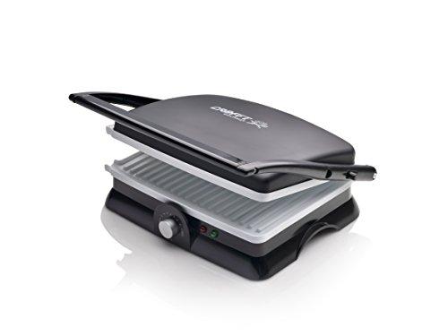 Crafft CPAC2000BL - Sandwichera, plancha press grill, cerámica 2000 W
