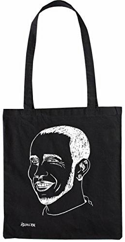 Mister Merchandise Tasche Lewis Hamilton Stofftasche, Farbe: Schwarz