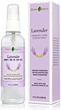 Lavender Linen and Room Spray, Pure Lavender Essential Oil Pillow Spray, Fabric Spray, Natural Aromatherapy Sleep Spray and Bathroom Spray for Relaxation and Stress Relief