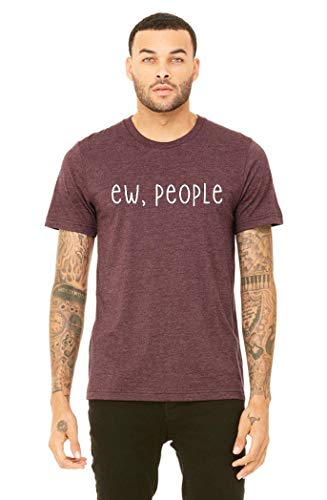 Funny Mens Ew People Tshirt, Introvert Tee, Gift For Him, Sizes XS-2XL (Best Dating Sites For Introverts)