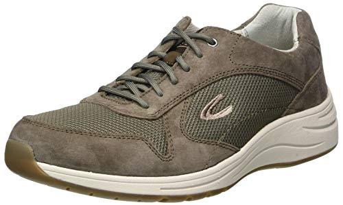 camel active Herren Fusion Sneaker, Braun (peat 02), 43 EU