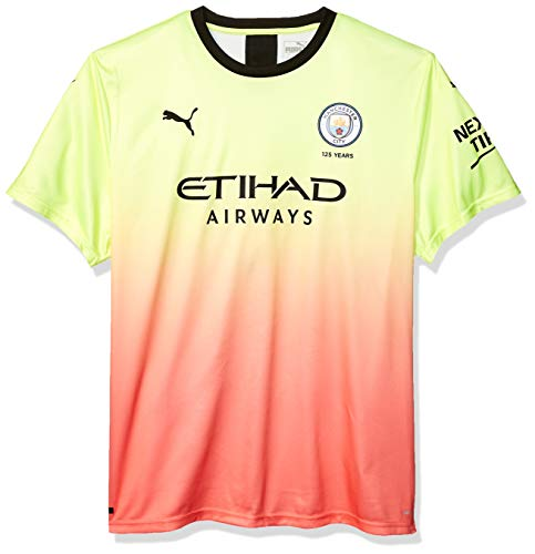 PUMA Mens Manchester City Licensed Replica Jersey 2019-2020, XX-Large, Third
