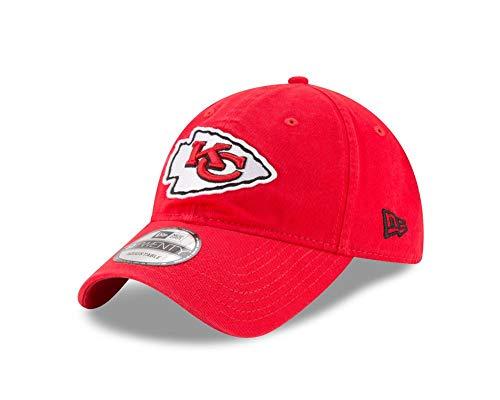 New Era Kansas City Chiefs 9TWENTY Core Red One Size Fits All