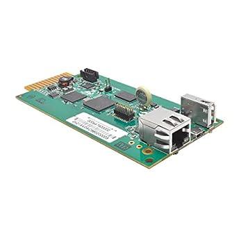 Tripp Lite UPS Web Management Accessory Card Remote Monitoring SNMP HTML5 SSH Telnet or Web Browser  WEBCARDLX