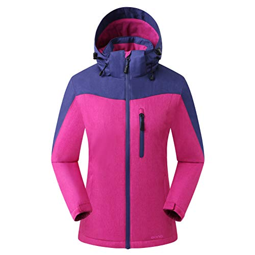 Amazon Marke: Eono Essentials Damen Orebro Skijacke, Astral Aura, L