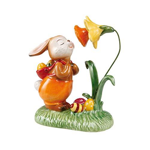 Goebel Die Duftet Aber Gut - Coniglio Pasquale in gres, Multicolore, 14 x 12 x 7 cm