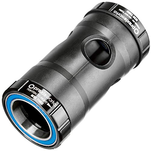 Praxis Negro PEDALIER M30 Thru BB30/PF30 73mm MTB 73-4101R, Adultos Unisex, ESTANDAR