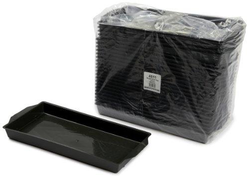 Oasis Kunststoffschalen für Frischblumen-Steckschaum-Ziegel, 25 Stück, grün