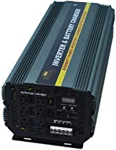 Royal Power PIC6000-12 Power Inverter 6000 Watt 12 Volt DC To 110 Volt AC with 50amp Charger and Auto Transfer Switch